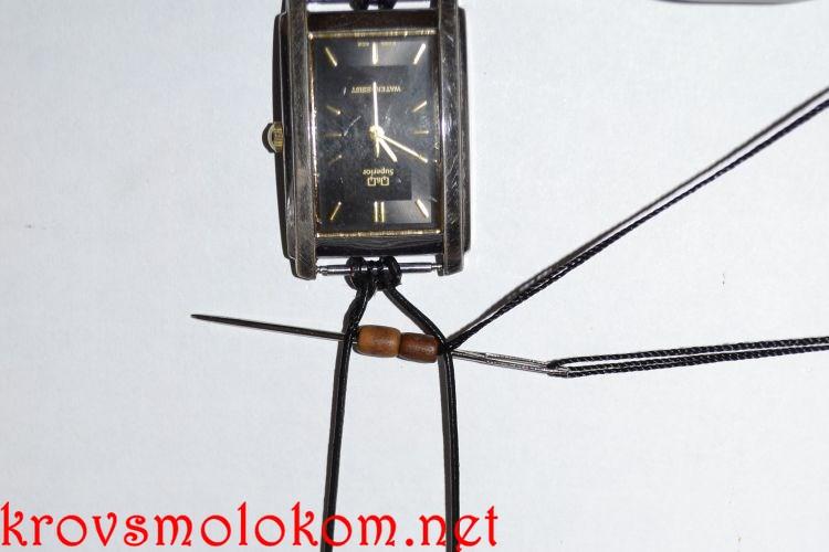 Как сделать (плести) браслет для часов в стиле Чан Лу (Chan Luu) своими руками. Фото. Мастер Класс.