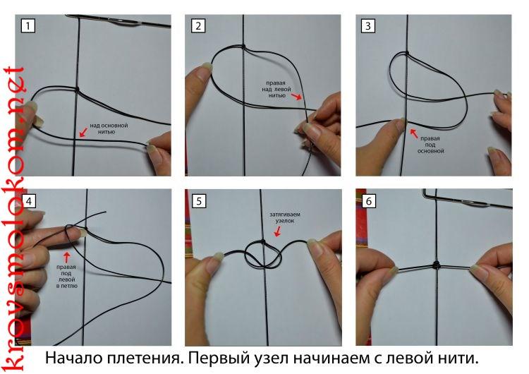 Как сделать (плести) браслет Шамбала три ряда (тройную) своими руками. Мастер Класс. Фото.