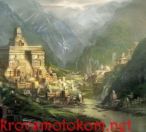 История, легенда (миф) о Стране Шамбала из Тибета.