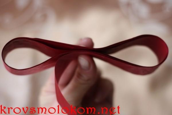 Как сделать бант для подарка