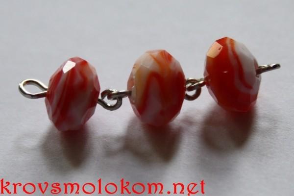 браслет из бусин handmade