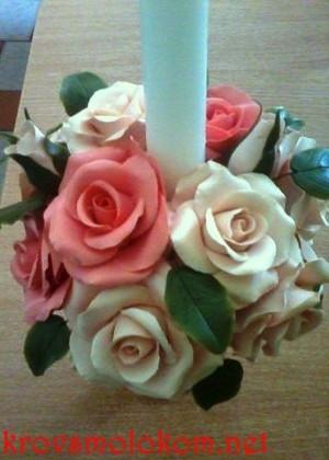 Цветы из холодного фарфора. Работы Ольги Шлапак