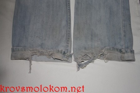 как пошить джинсы
