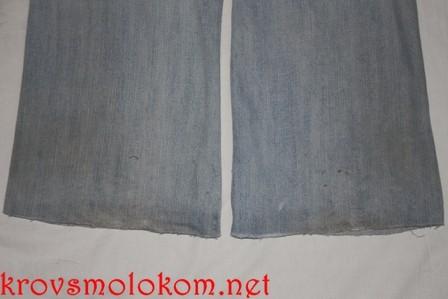 как пошить джинсы мастер класс