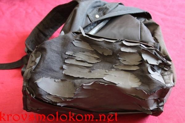 Починка рюкзака