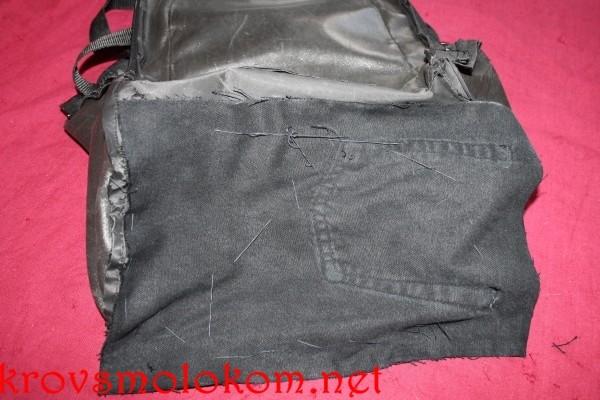Как уплотнить дно рюкзака