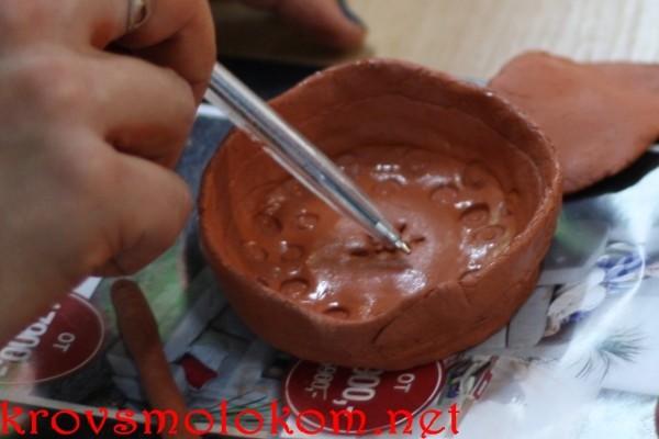 изделия из самозатвердевающей глины