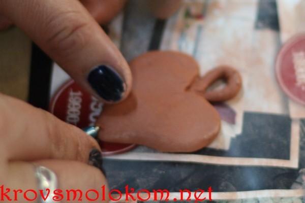 Лепка изделий из самозатвердевающей глины с фото