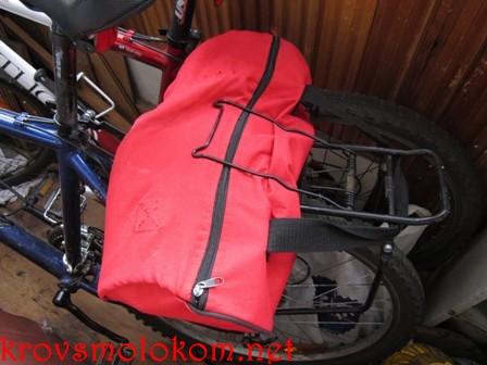 Ремонт сумки для велосипеда своими руками