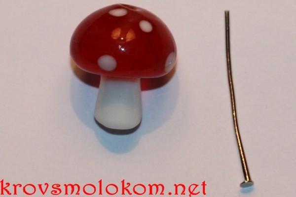 Как сделать серьги грибы своими руками. Мастер Класс с Фото