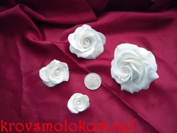 Цветы из полимерной глины. Подборка картинок (Фото) цветочных сережек, колец, кулонов, подвесок и ожерельев.