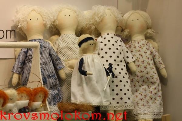 Выставка хенд мейд куклы