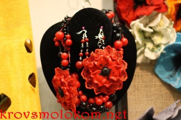 Выставка handmade бижутерия