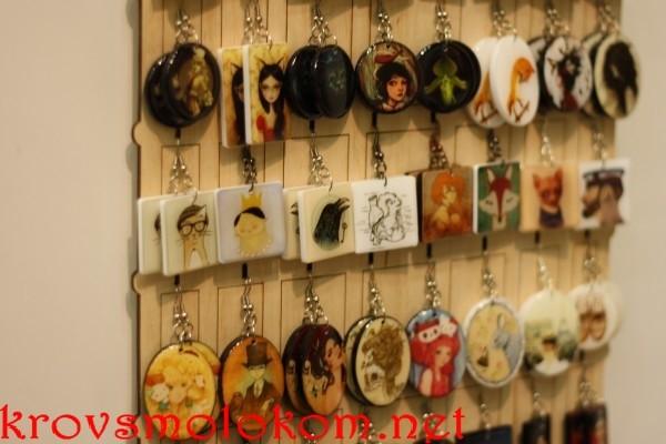 Выставка handmade серьги